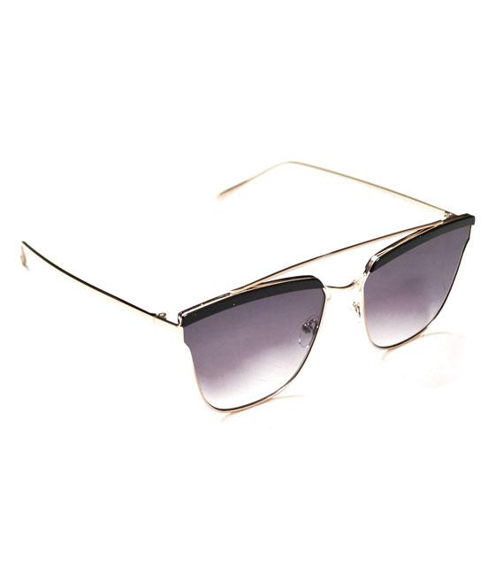 Γυαλιά ηλίου συρμάτινα μαύρα