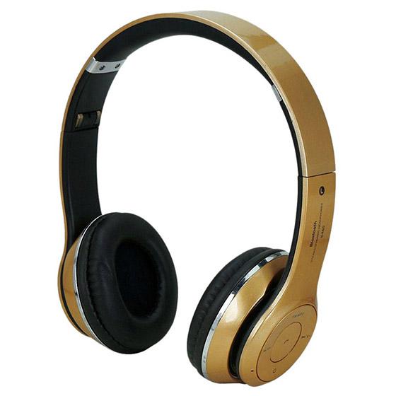 Χρυσά ακουστικά κεφαλής με ασύρματη σύνδεση Universal (S460) αξεσουάρ   αξεσουάρ