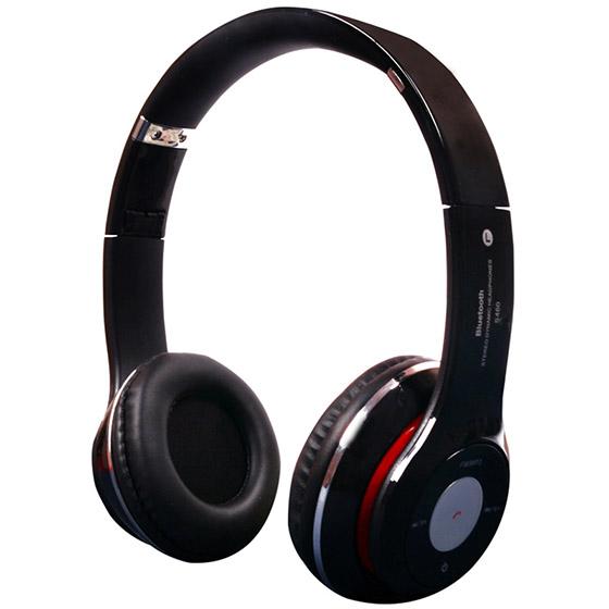 Μαύρα ακουστικά κεφαλής με ασύρματη σύνδεση Universal (S460) αξεσουάρ   αξεσουάρ