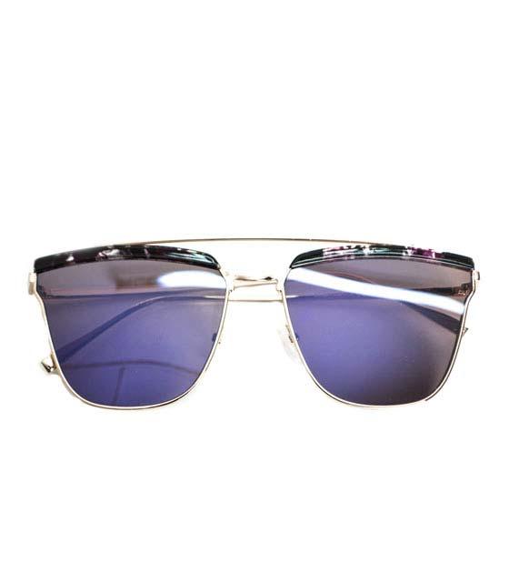 Γυαλιά ηλίου συρμάτινα μώβ