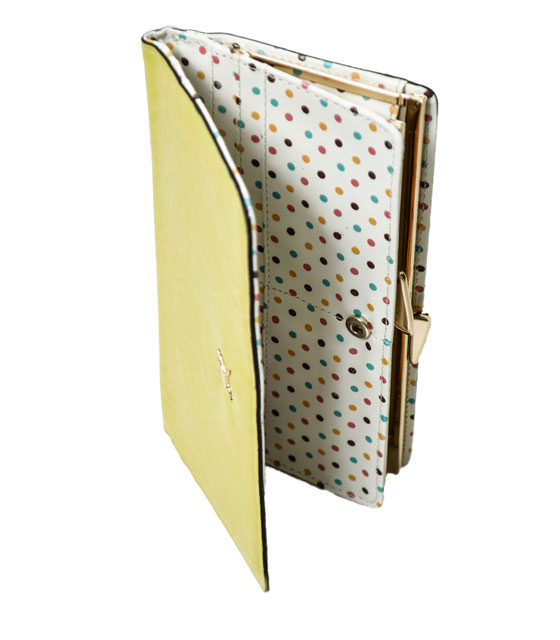 Buckle wallet (yellow)