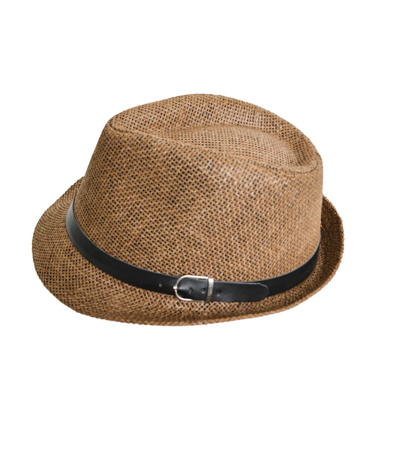 Straw hat (brown)