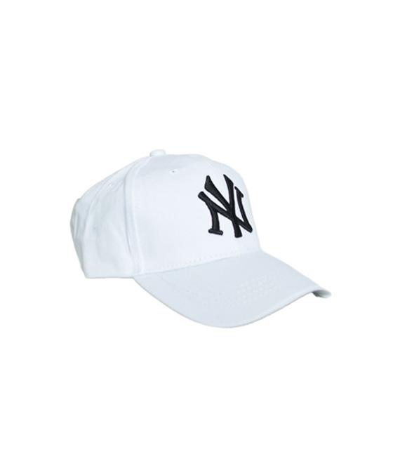 White jockey hat