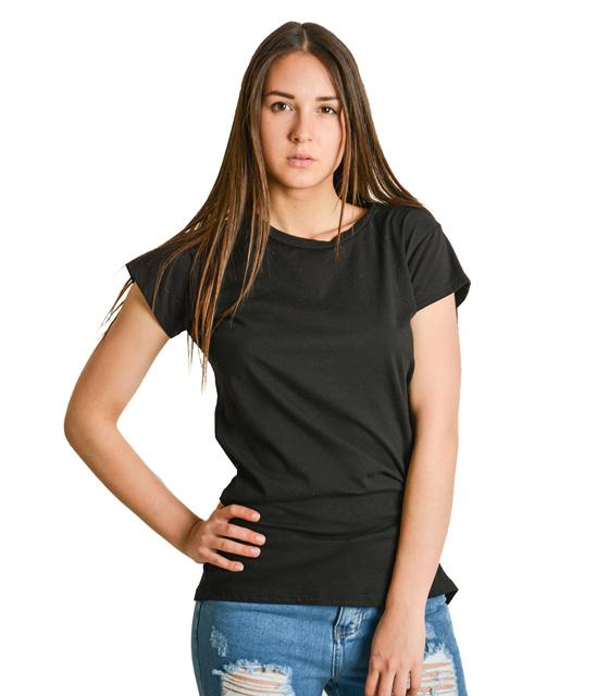 Μαύρη μπλούζα κοντομάνικη