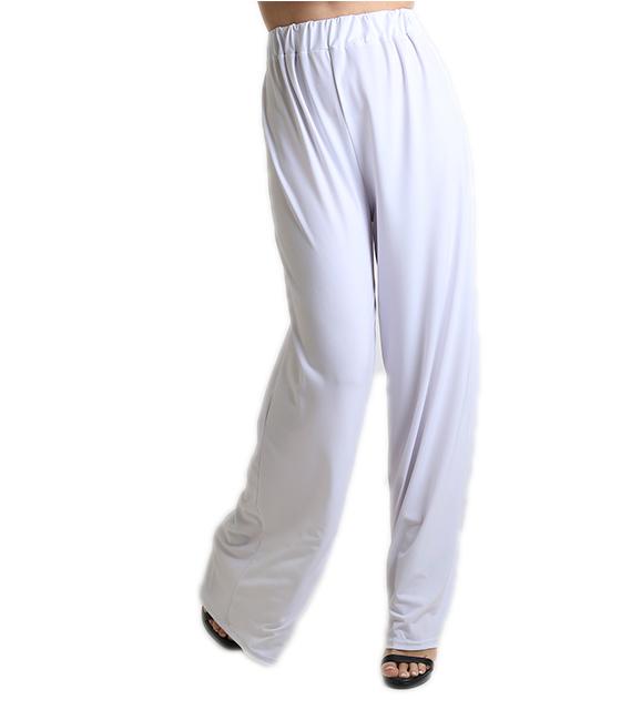 Παντελόνα ψηλόμεση λευκή ρούχα   bottoms   παντελόνια