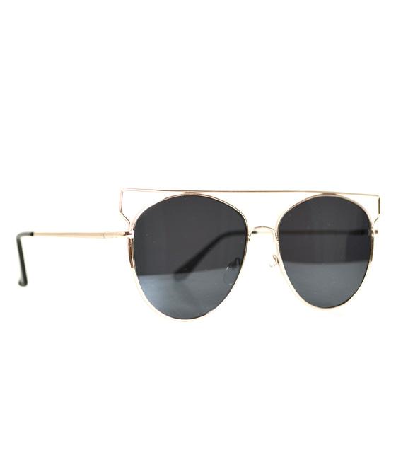 Γυαλιά με τετραγωνισμένο σύρμα μαύρο