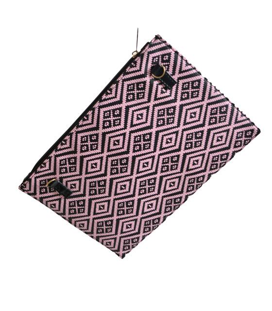 Φάκελος με σχέδιο μοτίβο (Ροζ)