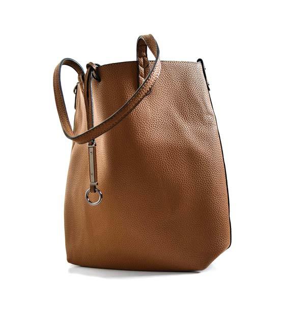 Camel τσάντα ώμου μεγάλη