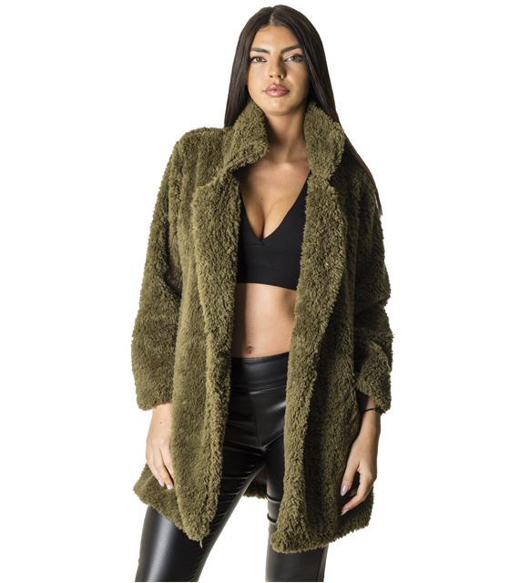 Χακί γούνα φλις ρούχα   πανωφόρια   γούνες   γουνάκια