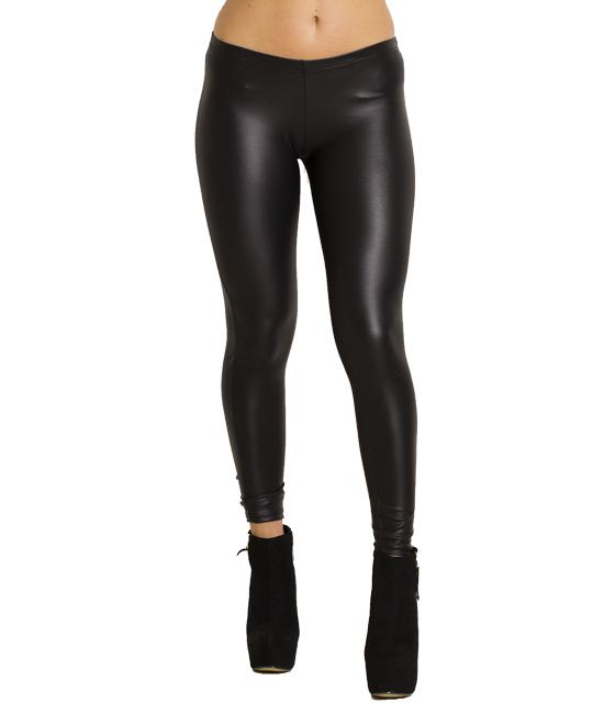 Κολάν δερματίνη χαμηλοκάβαλο (Μαύρο) ρούχα   bottoms   κολάν