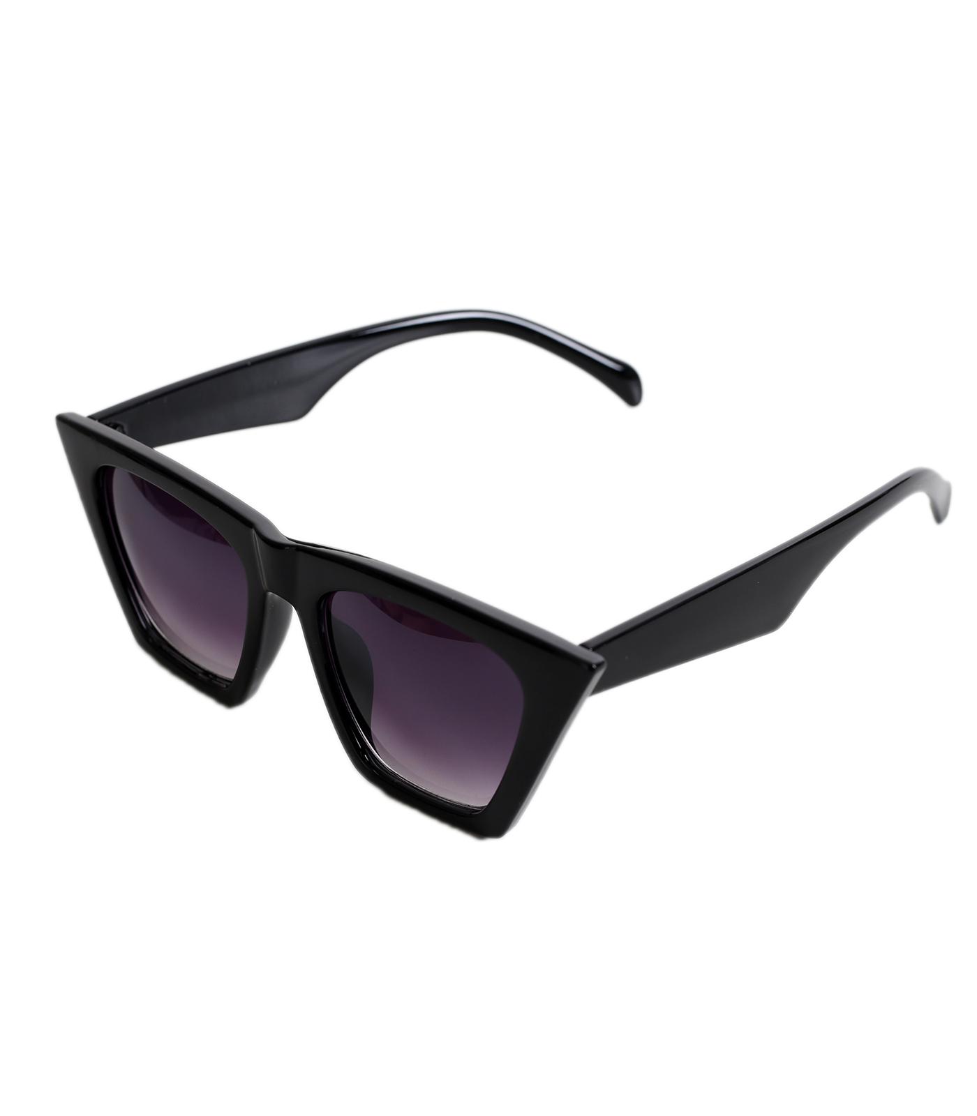 Μαύρα γυαλιά ηλίου μάσκα με μαύρο σκελετό αξεσουάρ   γυαλιά
