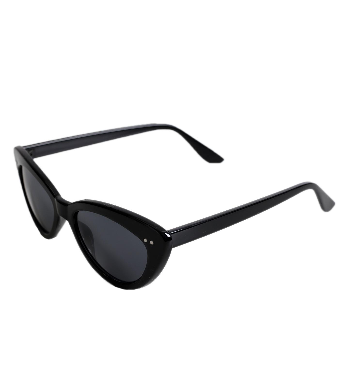 Μαύρα γυναικεία γυαλιά με μαύρο φακό