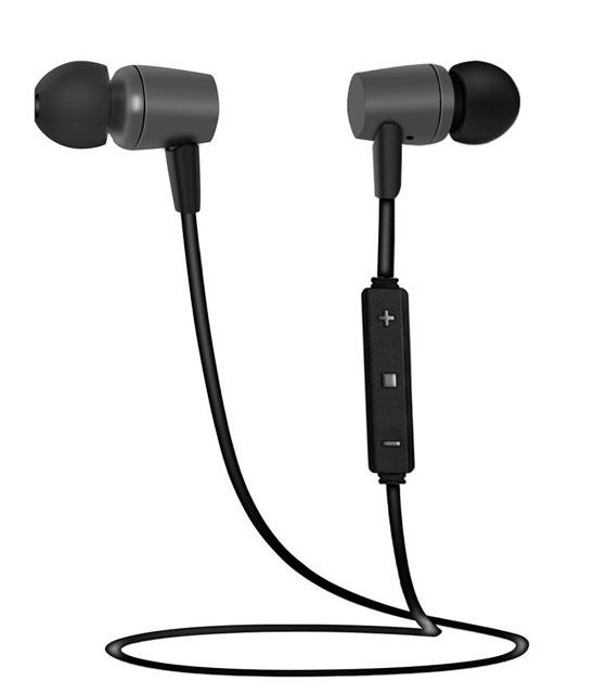 Μαύρα ακουστικά με ασύρματη σύνδεση (Bluetooth Headphones)
