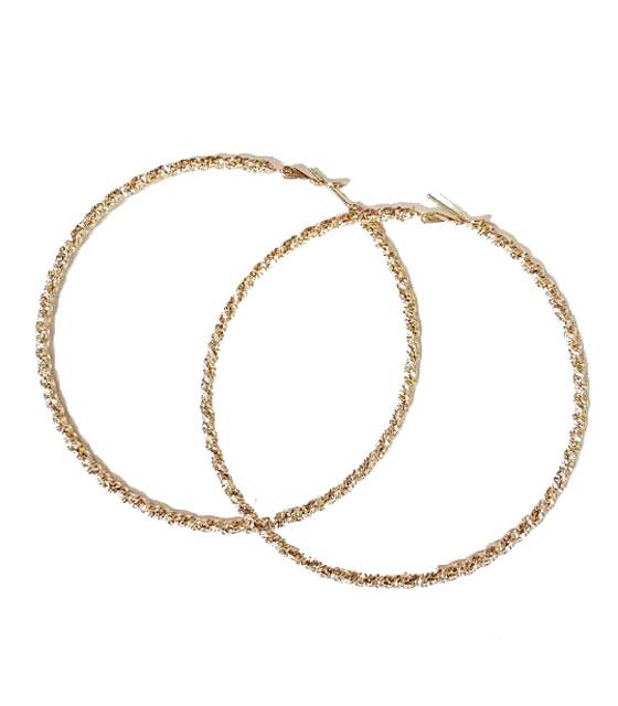 Σκουλαρίκια κρίκοι (Χρυσό)