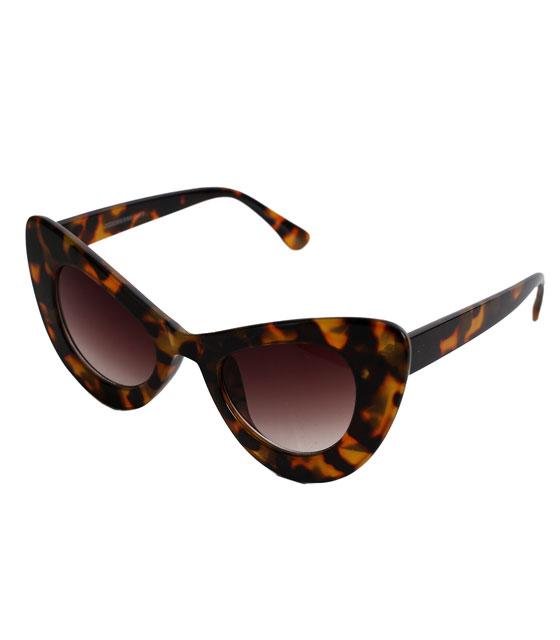 Γατίσια κοκκάλινα γυαλιά ηλίου (Λεοπάρ)