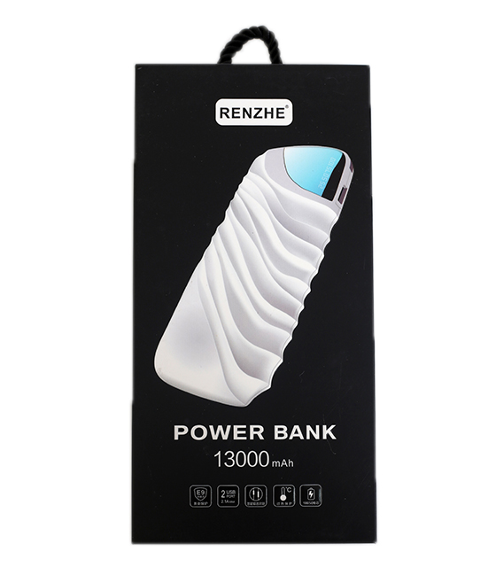 Power Bank High Speed 13000mAh with LED Indicator (Λευκό)