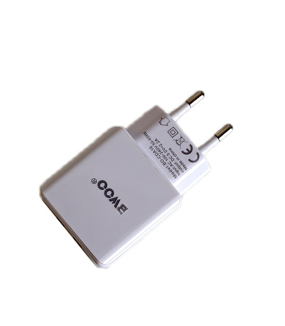 BWOO Αντάπτορας 2 USB Wall Charger