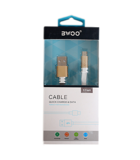 BWOO CABLE QUICK CHARGE & DATA