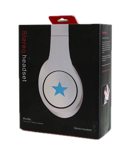 Headset Gembird Stereo Detroit White with star