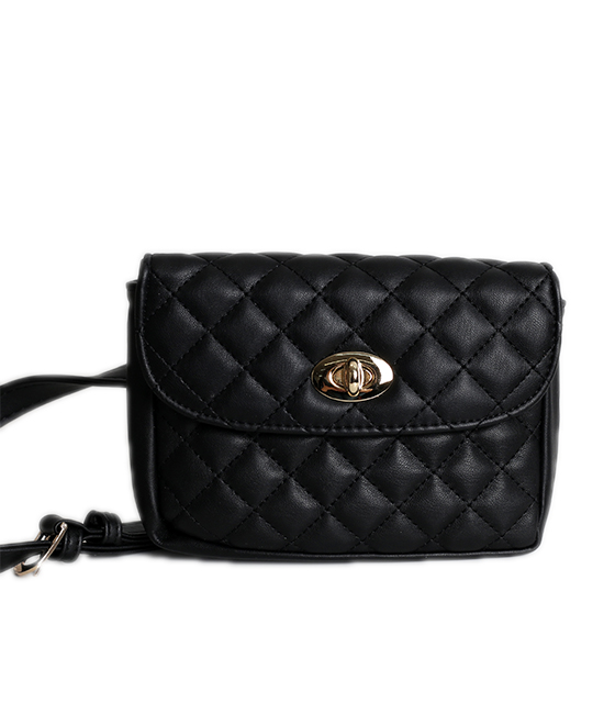 Μαύρο τσάντα καπιτονέ