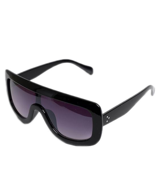 Γυαλιά ηλίου μάσκα με μαύρο φακό (Μαύρο)