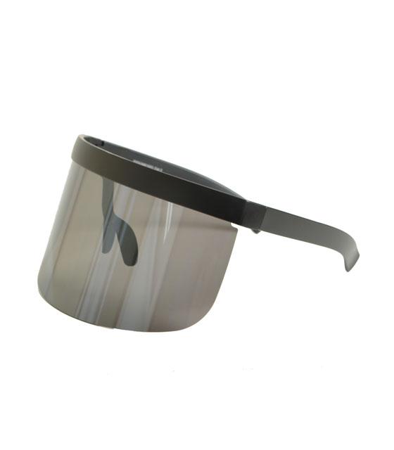 Γυαλιά ηλίου μάσκα με μαύρο φακό