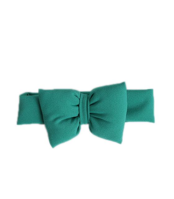 Παιδική κορδέλα με φιόγκο (Πράσινο) παιδικά   ενδύματα υπόδηματα κορδέλες