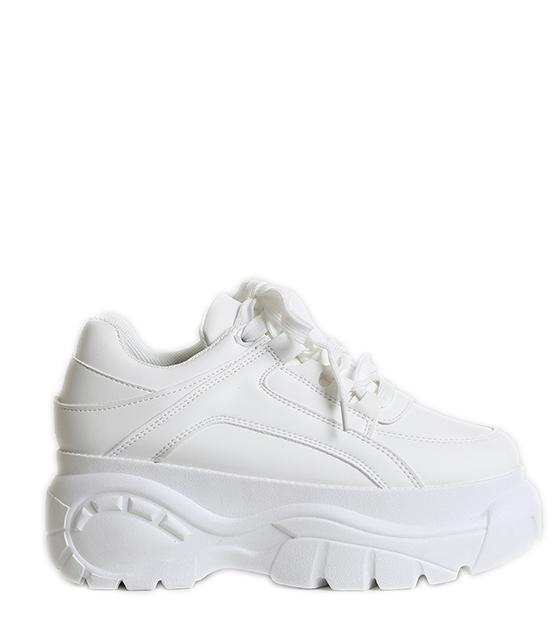 Δίπατο sneakers (Λευκό)