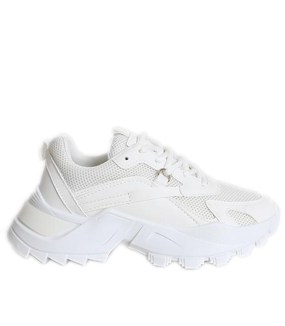 Sneakers με χοντρό πάτο (Λευκό)